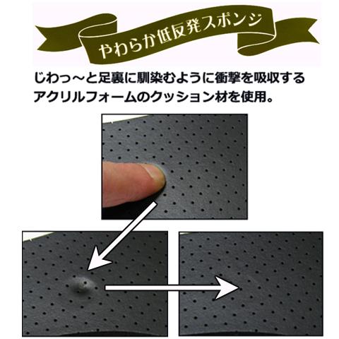 低反発インソール プリント柄 プリントデザイン パンプス用